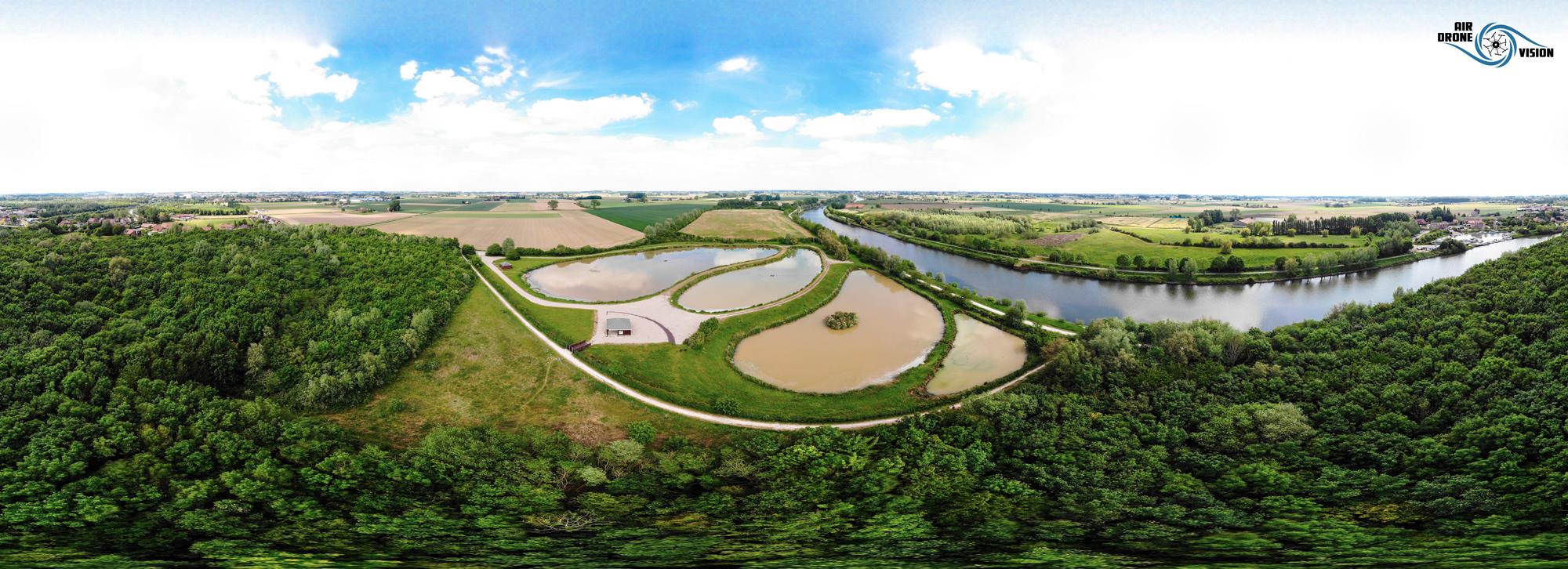 Panoramique 180° @Deûlemont-Photos crédit ©Air Drone Vision