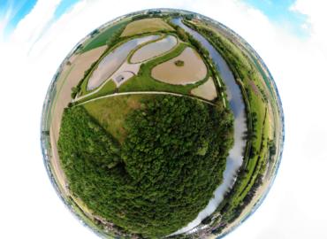 Tiny Planet @ Deûlemont - Photos crédit ©Air Drone Vision