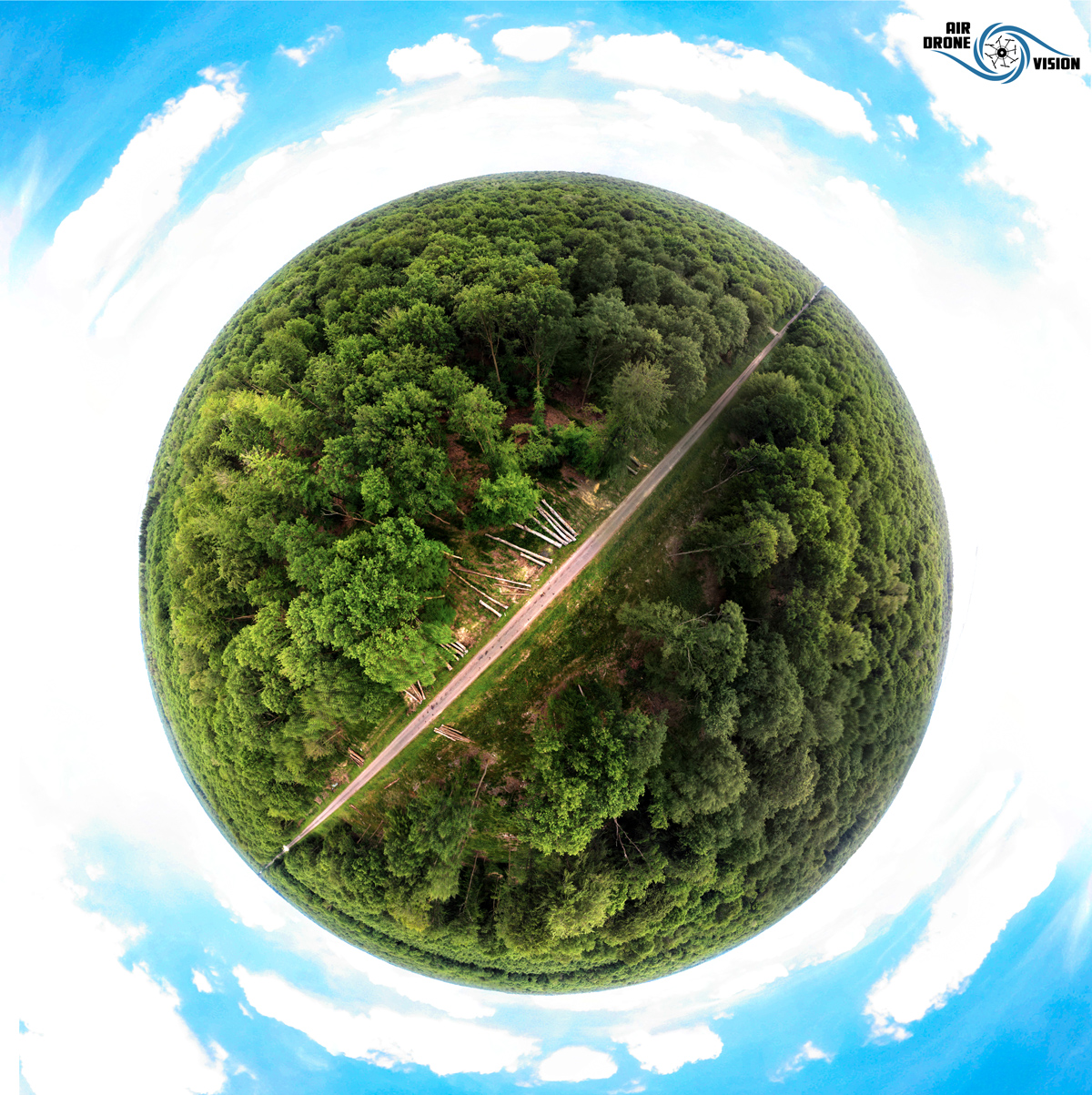 Tiny Planet @Mormal ©Air Drone Vision